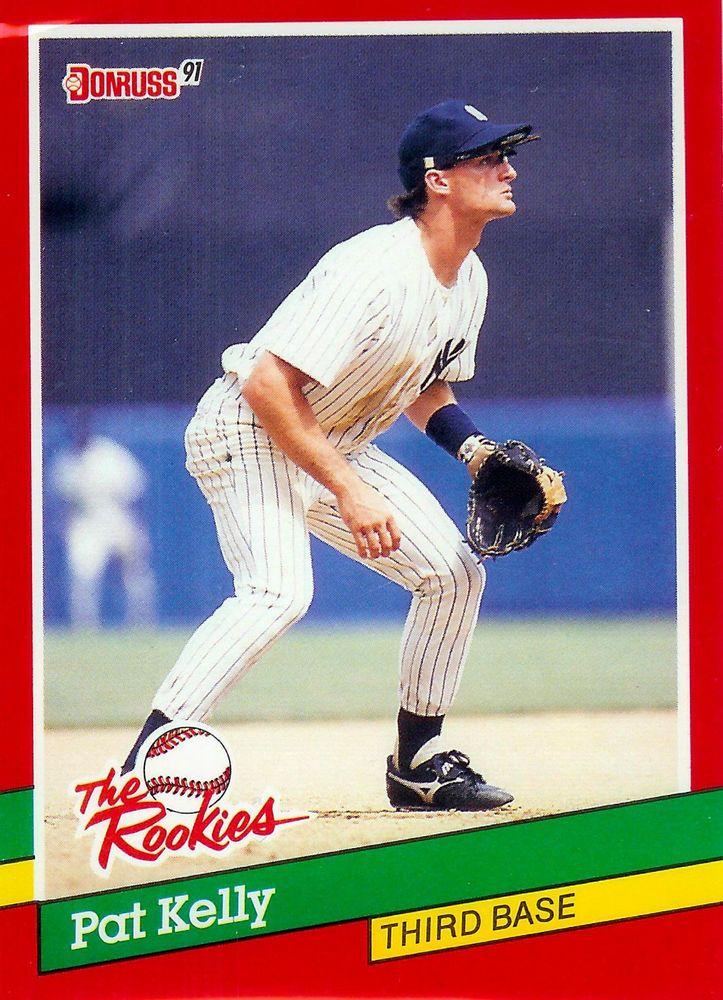 1991 donruss rookies 1 pat kelly yankees card mint