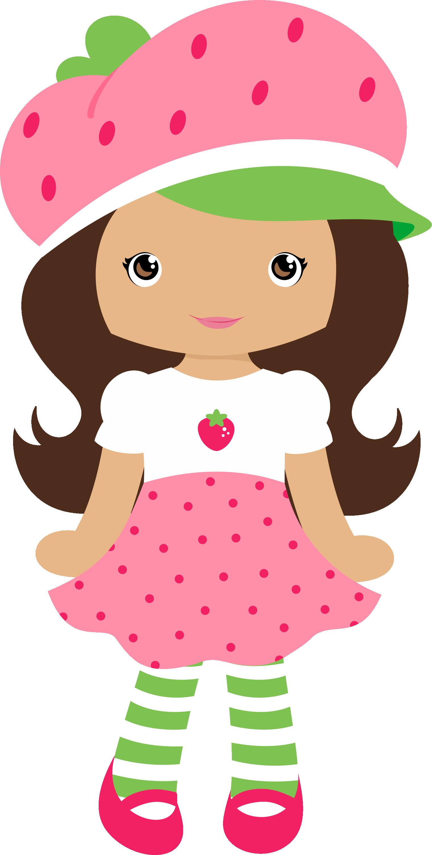 Moranguinho Grafos Strawberrygirl12 Png Minus Boneca
