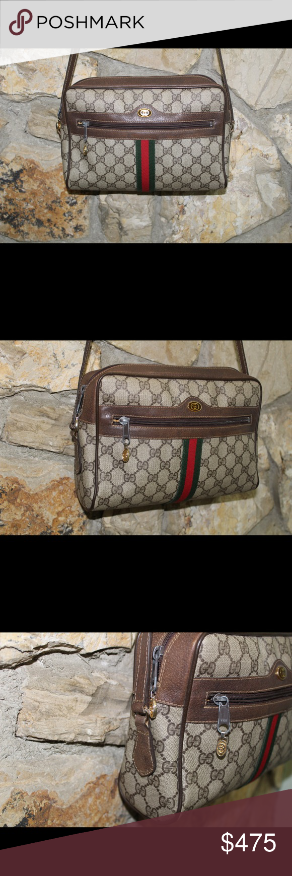 cf99c84bea0ae0 Authentic VTG Gucci Ophelia Crossbody Shoulder Bag Vintage Authentic Gucci  Ophelia Crossbody Shoulder Bag. This
