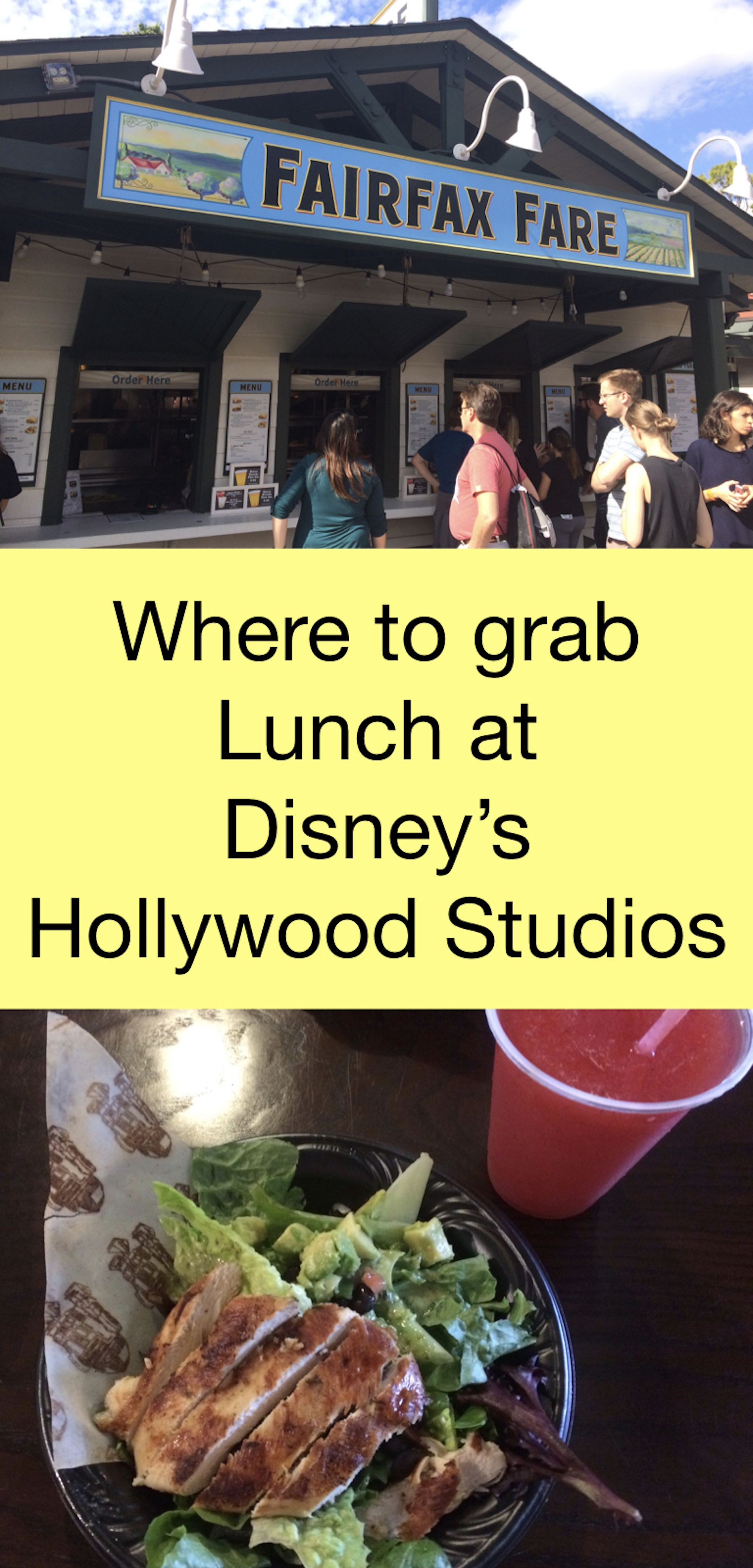 Check Out Your Options For Lunch At Hollywood Studios From Fine