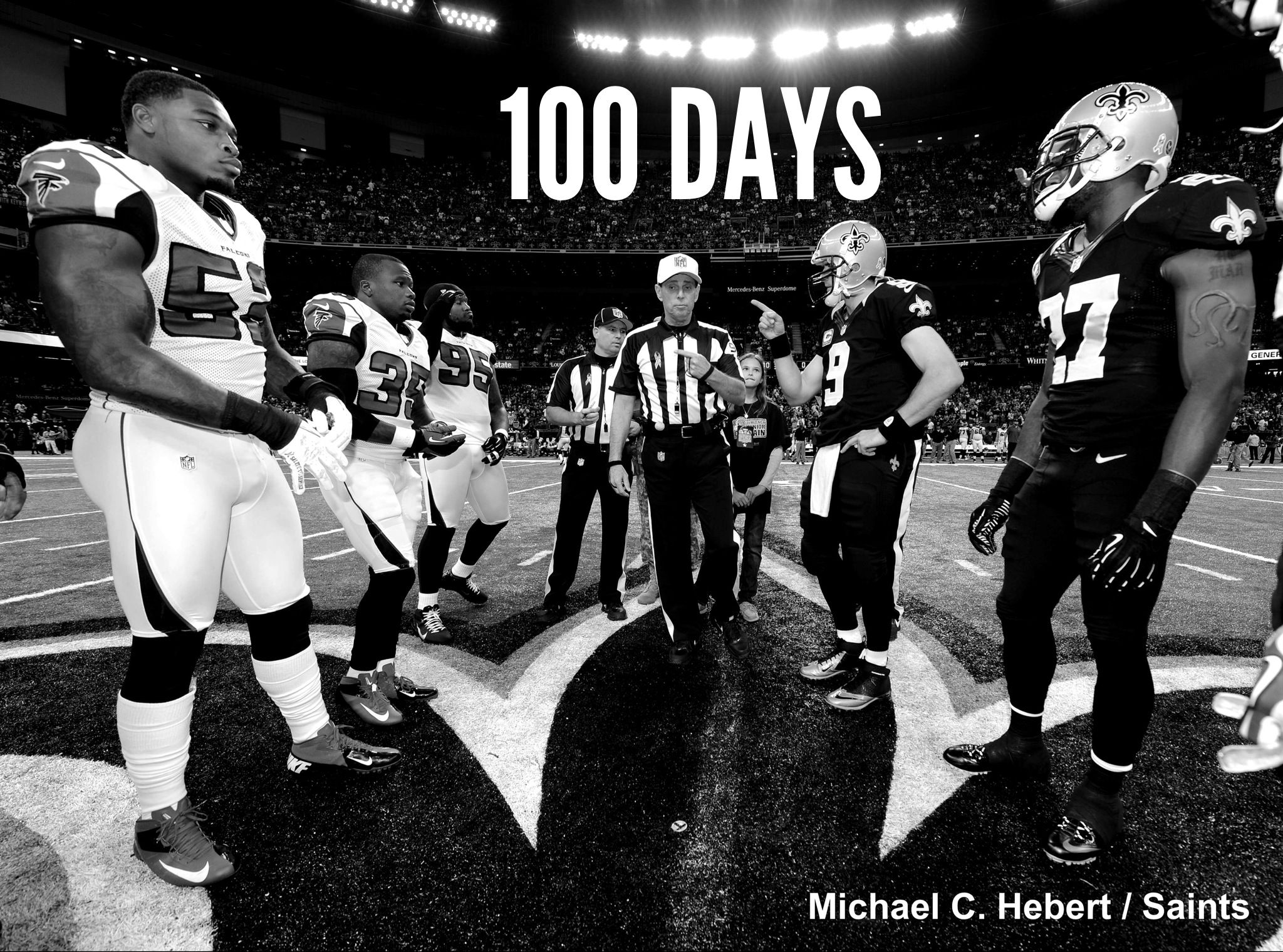 100 Days From Today The New Orleans Saints Host The Atlanta Falcons To Open The 2013 Regular Season New Orleans Saints New Orleans New Orleans Saints Football