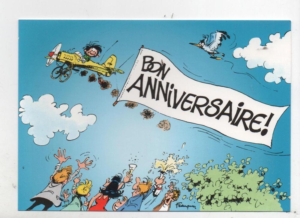 Carte Postale Franquin Gaston En Avion Bon Anniversaire Dalix 1997 Carte Anniversaire Humoristique Anniversaire Humoristique Carte Anniversaire