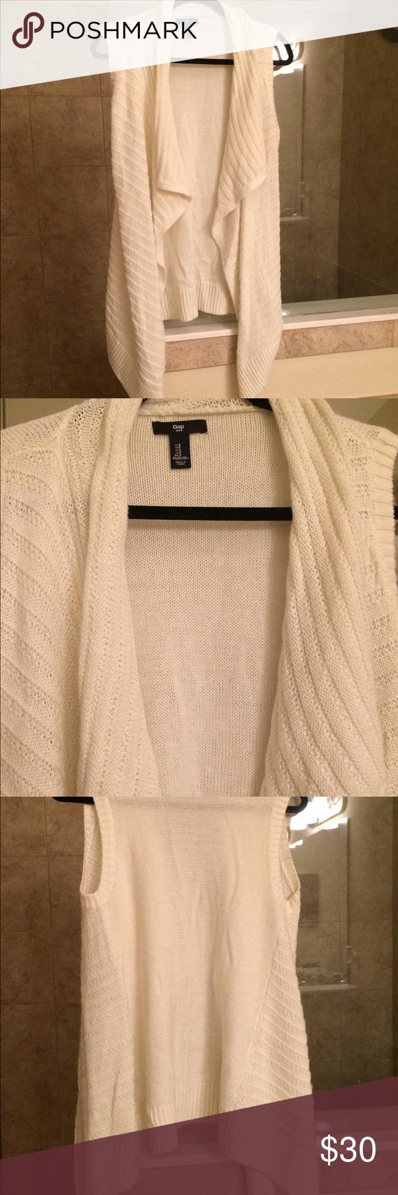 💥SaleGap sweater vest in cream