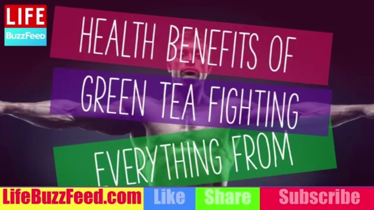Health Benefits of Green Tea Fighting Everything from Cancer to Acne - YouTube