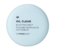 [The Face Shop] Oil Clear Smooth & Bright Pact SPF / FPS 30 PA++ 9g #N203 Natural Beige SALE!