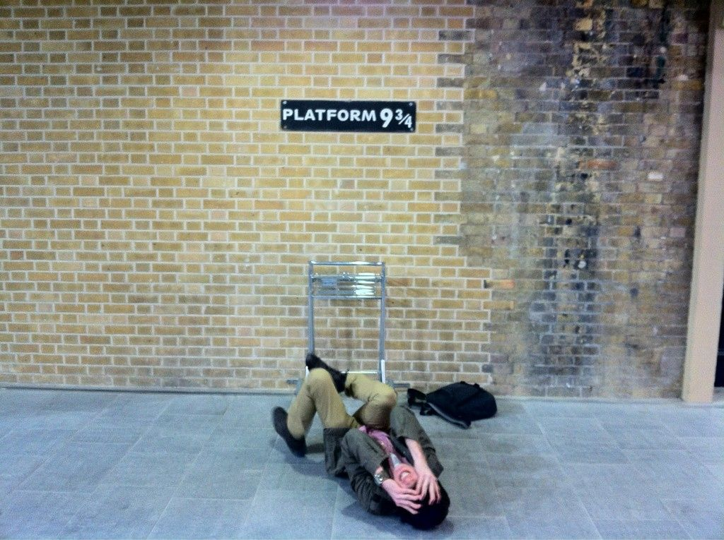 What really happens at Platform 9 and 3/4...