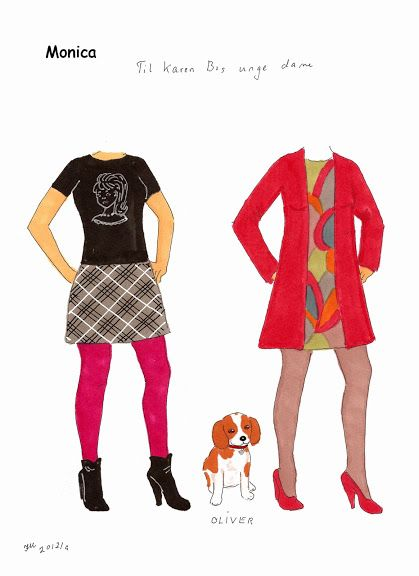 Tøj til damer tegnet af Inger. Clothes for ladies by Inger. - Karen Bisgaard Petersen - Picasa Webalbum