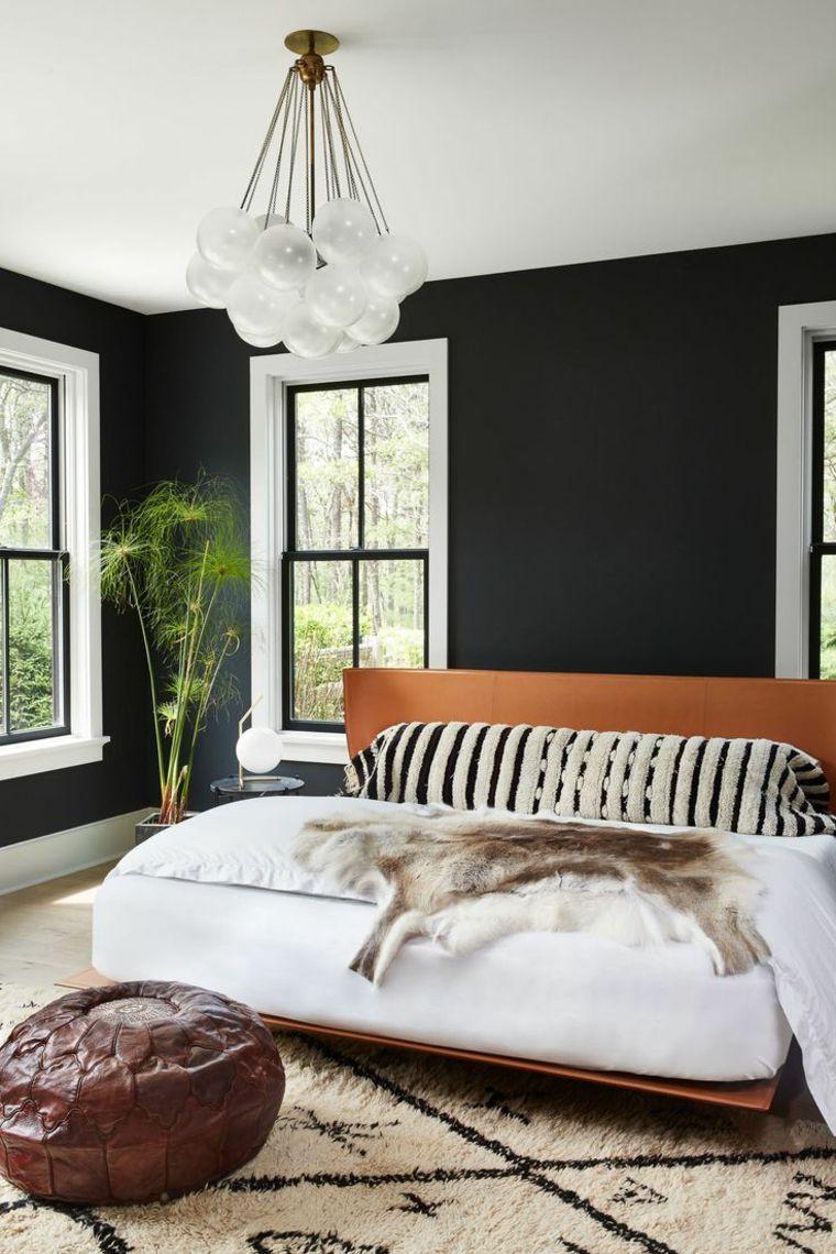 Farben Fur Akzentwande Dunkle Farben Fur Das Schlafzimmer