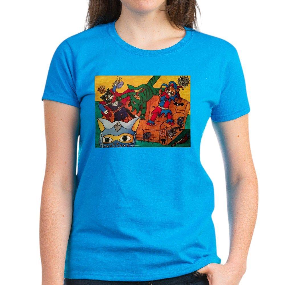 23f1853d1d241 Costume Cats Women s Crew Neck T-Shirt  halloween  halloweencostume   halloweenart  awesome