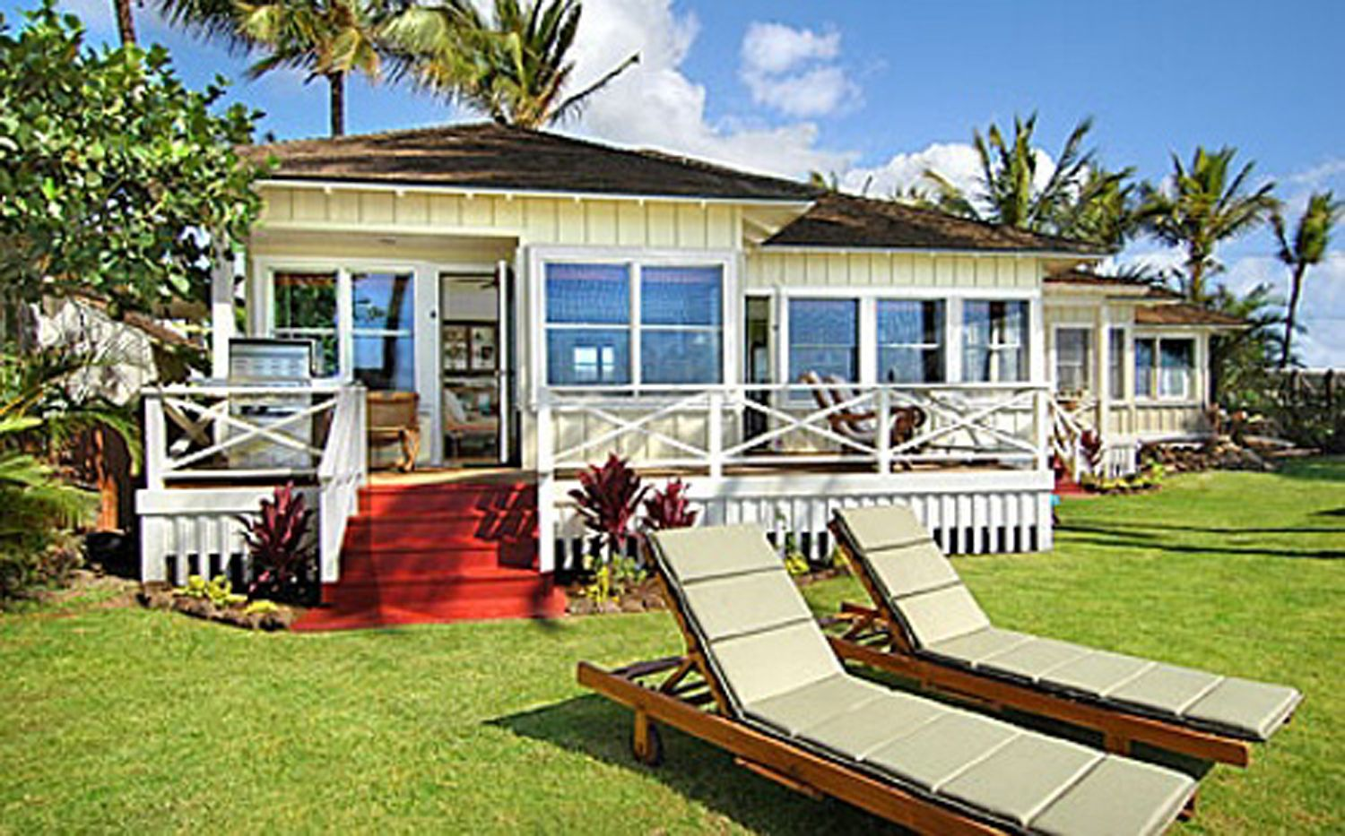 Coastline Cottages In Poipu In Kauai 12 From The Ocean This Is My Special Place Where I Go To Regr Kauai Vacation Rentals Kauai Vacation Oceanfront Rentals
