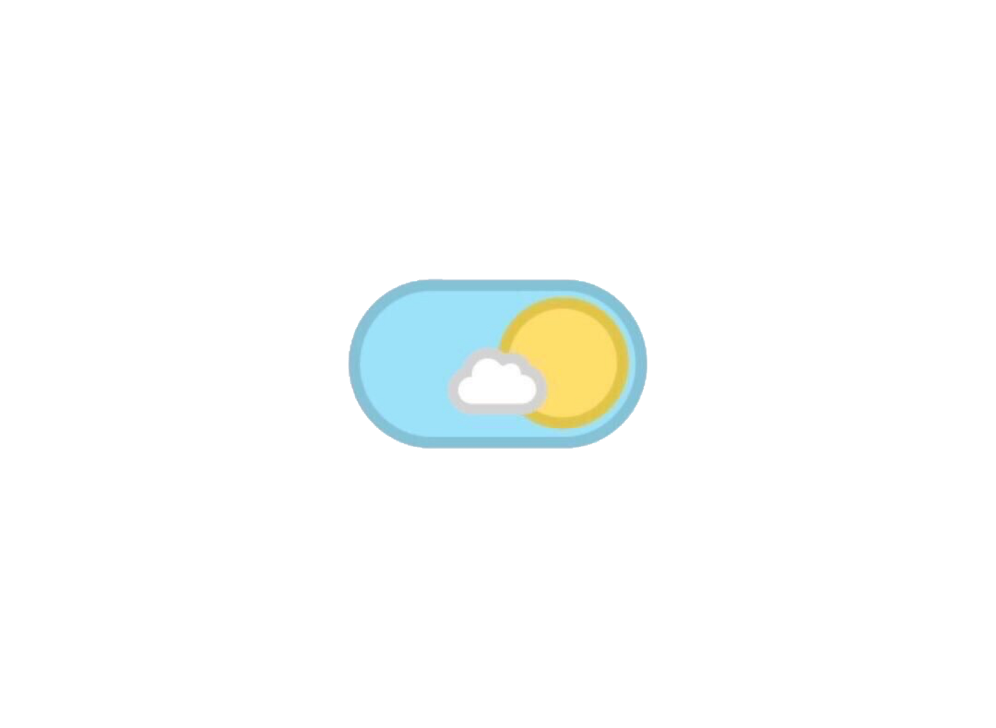Blue Day Sun Cloud Polyvore Moodboard Filler Yellow Cute Stickers Blue Aesthetic Overlays