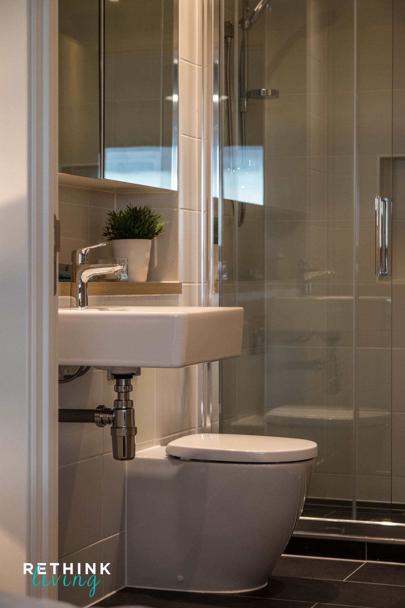 Neutral bathroom Reading UK This penthouse needs no