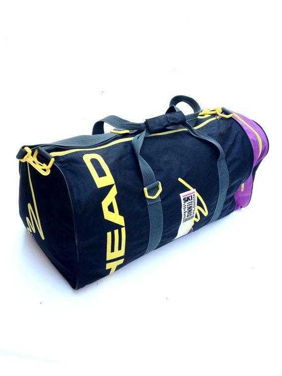 Wild 90s Head Ski Racket Duffle Bag By Neonstockyards On Etsy 50 00