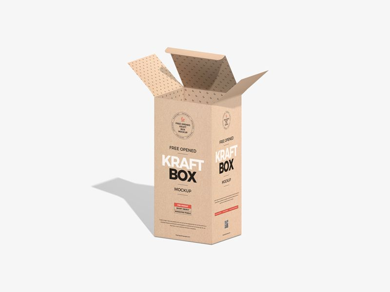 Download Free Opened Kraft Box Mockup Graphic Google Tasty Graphic Designs Collectiongraphic Google Tasty Graphic In 2020 Box Mockup Kraft Boxes Graphic Design Collection