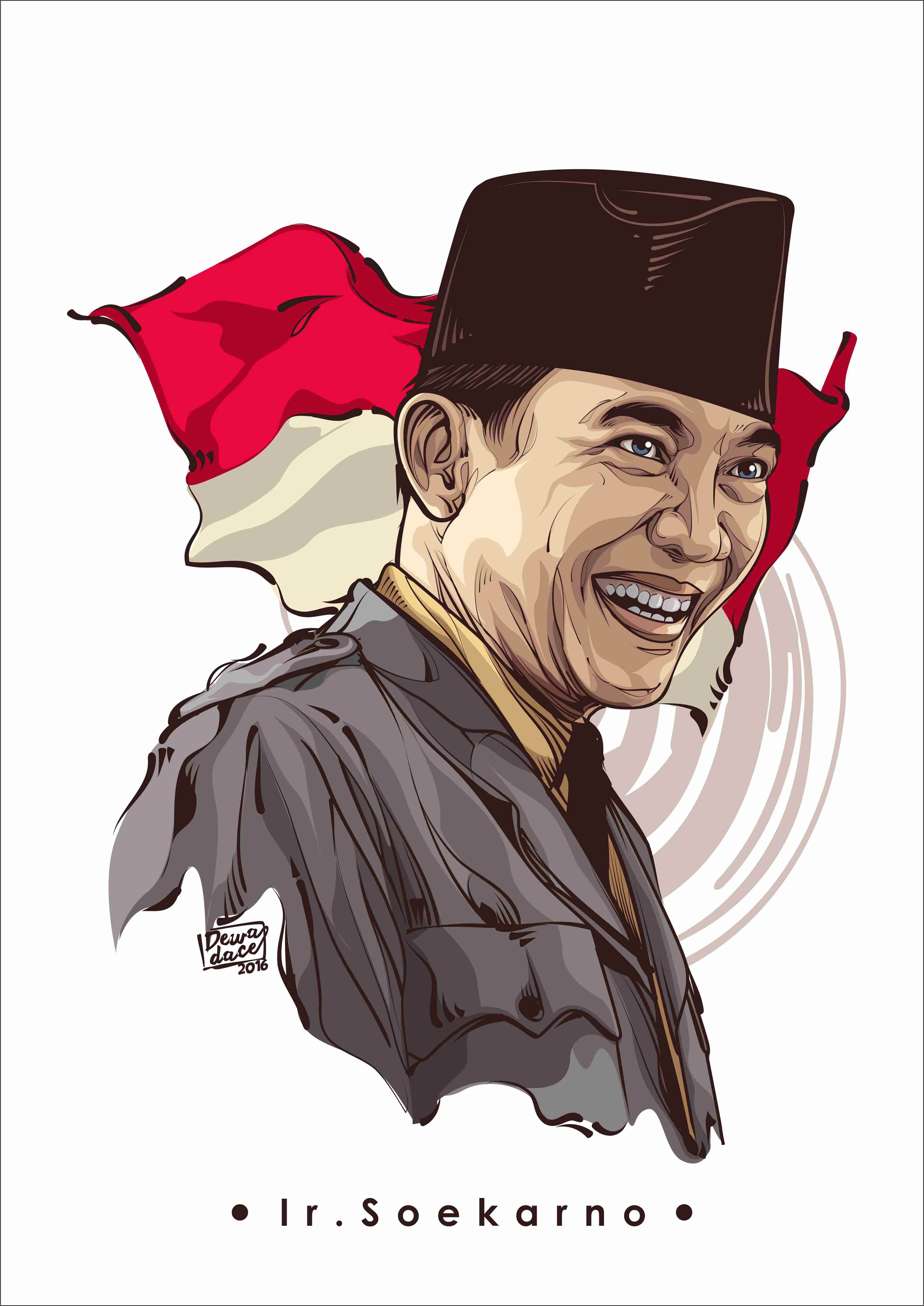 Gambar Pahlawan Ir Soekarno