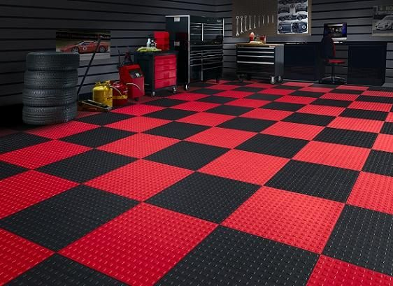 Techfloor Techfloor Garage Floor Tiles Garage Floor Tile Floor