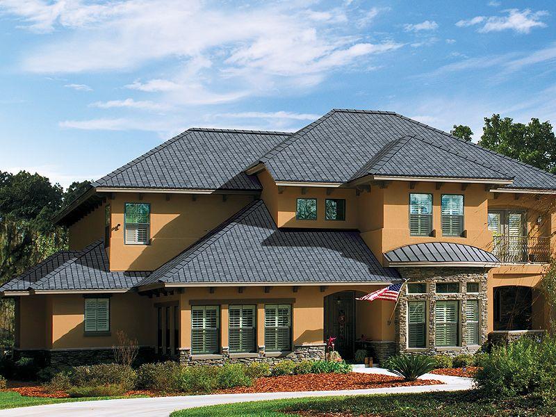 Best Amalfi Gray Gaf Designer Roof Shingles Home General 640 x 480