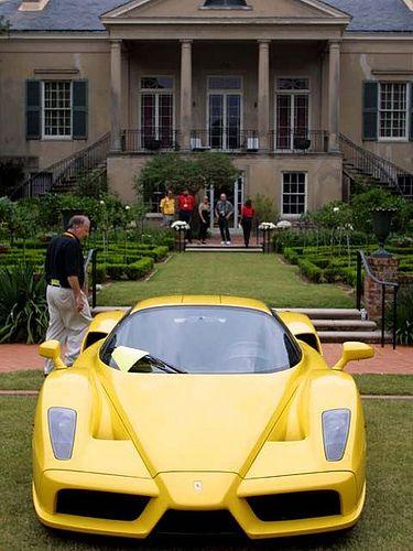 Ferrari Enzo Front Yellow