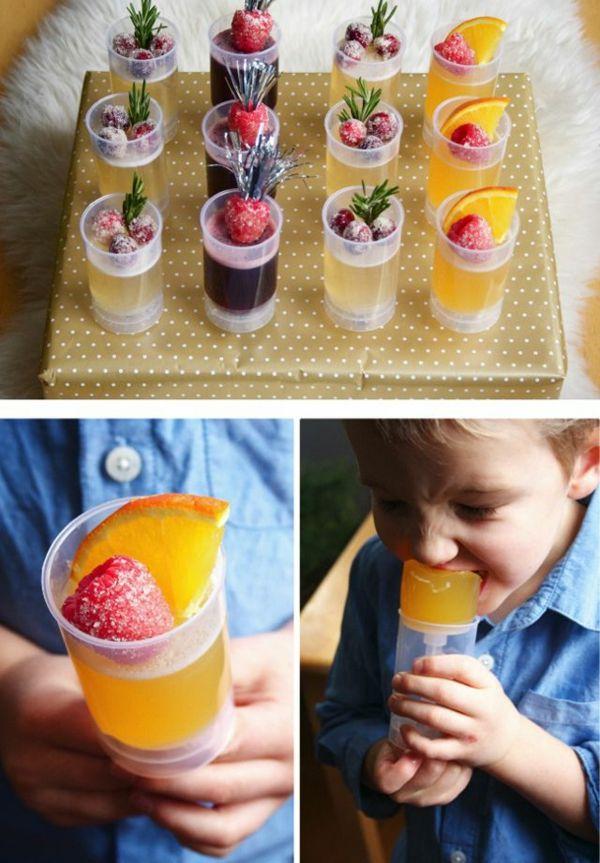 silvesterparty für kinder mit leckereien