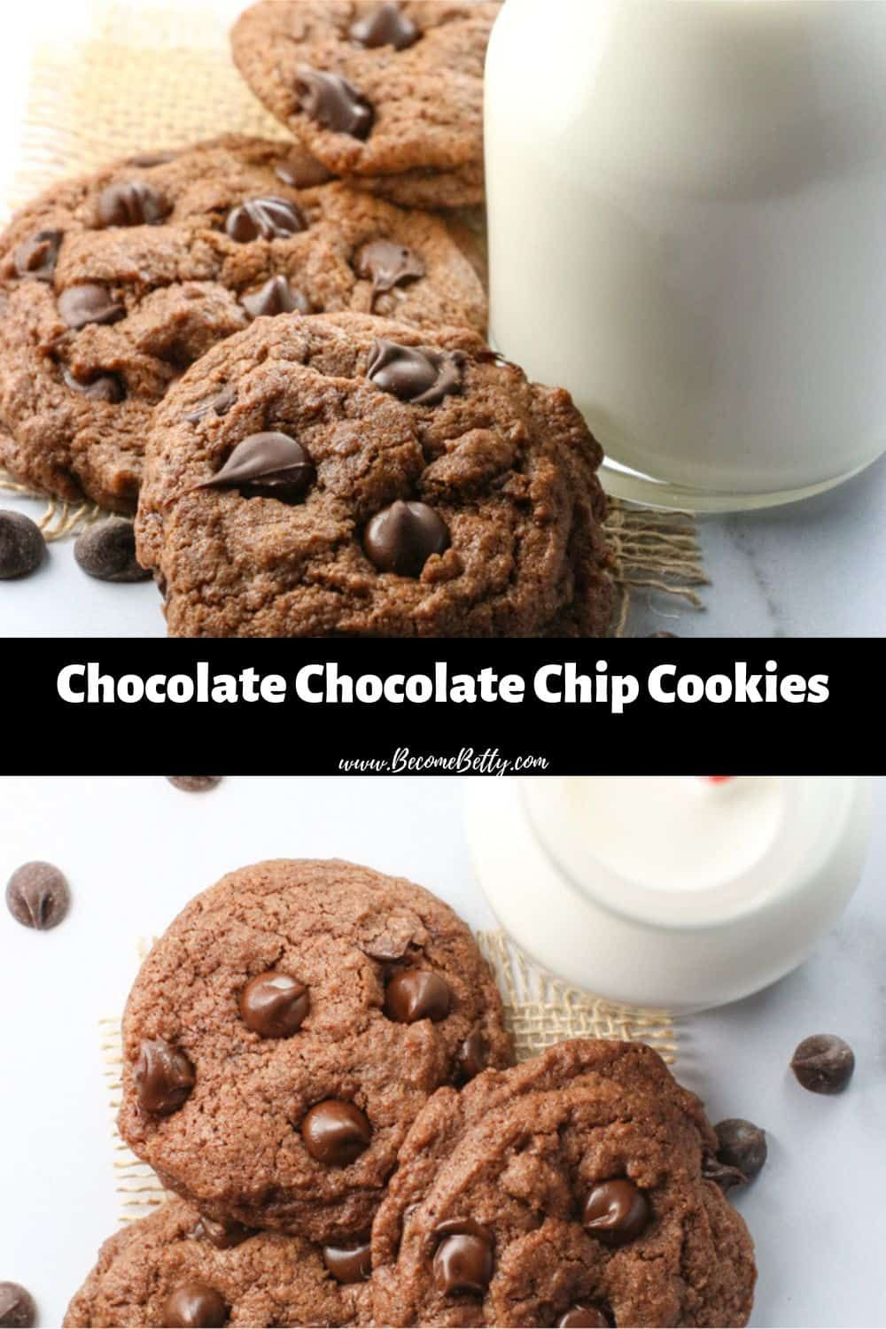 Intensely Chocolate Chocolate Chip Cookies Perfect For National Chocolate Chip Cookie Day And Even B Chocolate Chip Cookies Chip Cookies Soft Chocolate Cookie