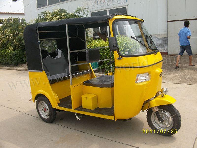 Tvs King Tuk Tuk Bajaj India Ape Piaggio Three Wheelers Auto