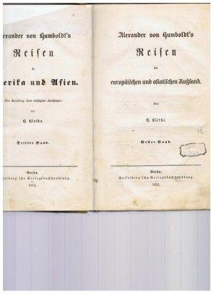 gebrauchtes Buch – Kletke, H. – Alexander von Humboldt's REisen im europäischen und asiatischen Rußland. Erster Band