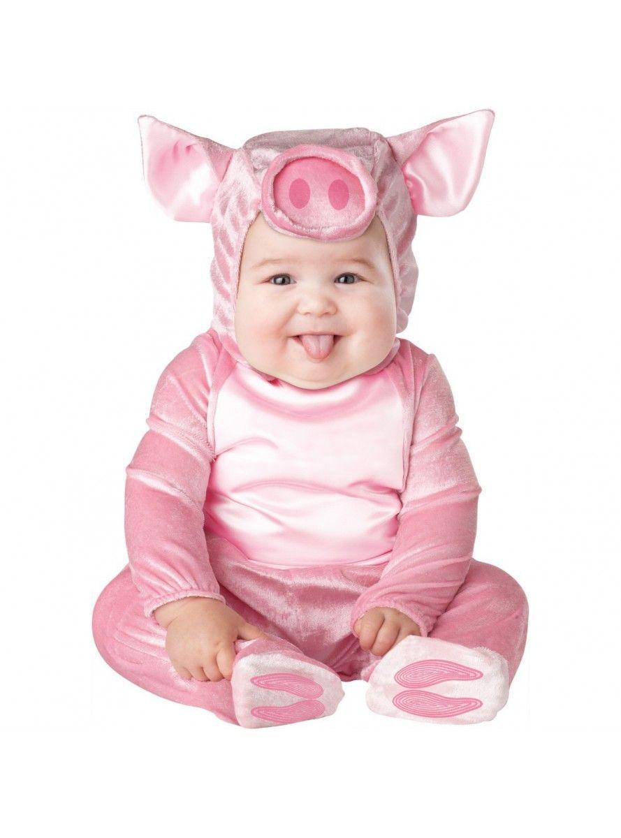 96c969ba Disfraz de cerdito rosa para bebé en 2019 | disfraces | Disfraces ...
