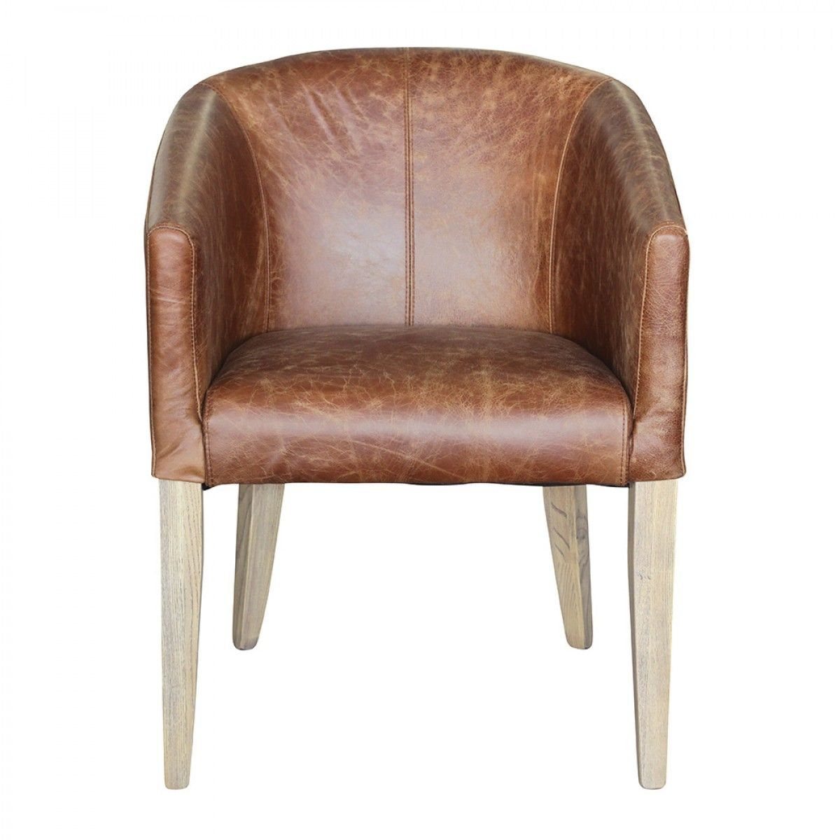 Keaton Tub Chair Vintage Brown - Armchairs - Upholstery. Another ...
