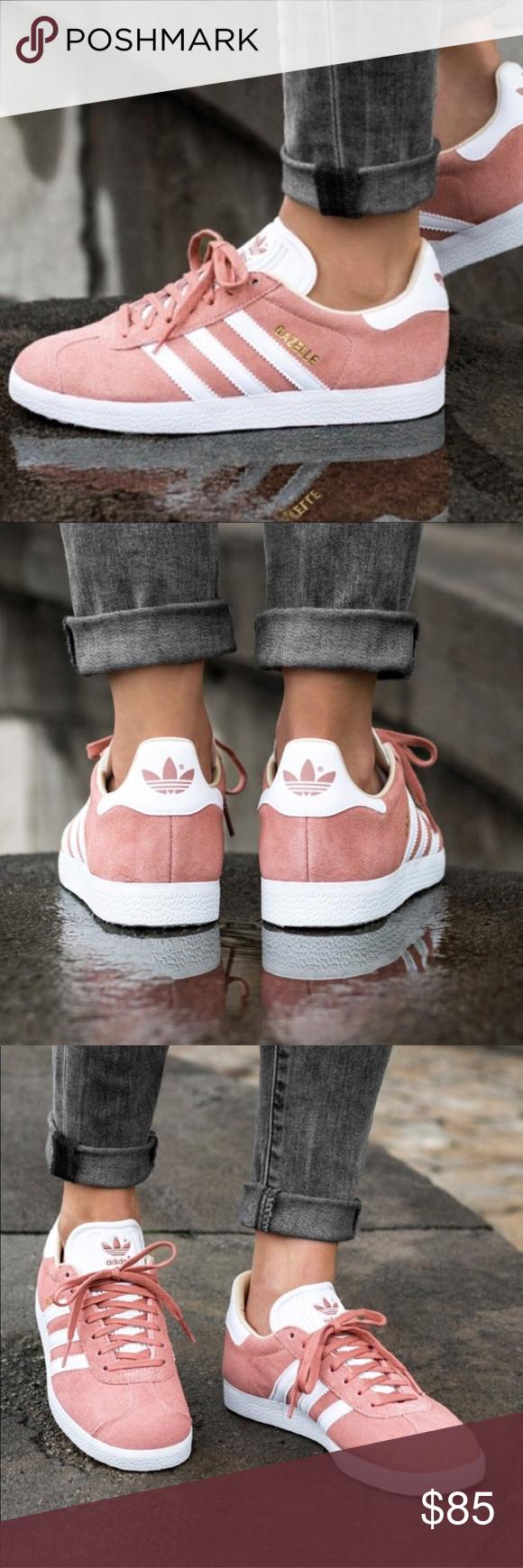 Adidas Gazelle ash pink suede | Rose