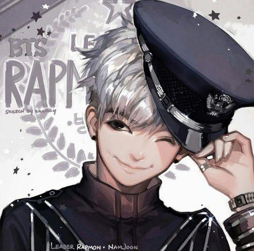 154 best kpop fanart images on Pinterest | Kpop fanart ... |Namjoon Bts Anime