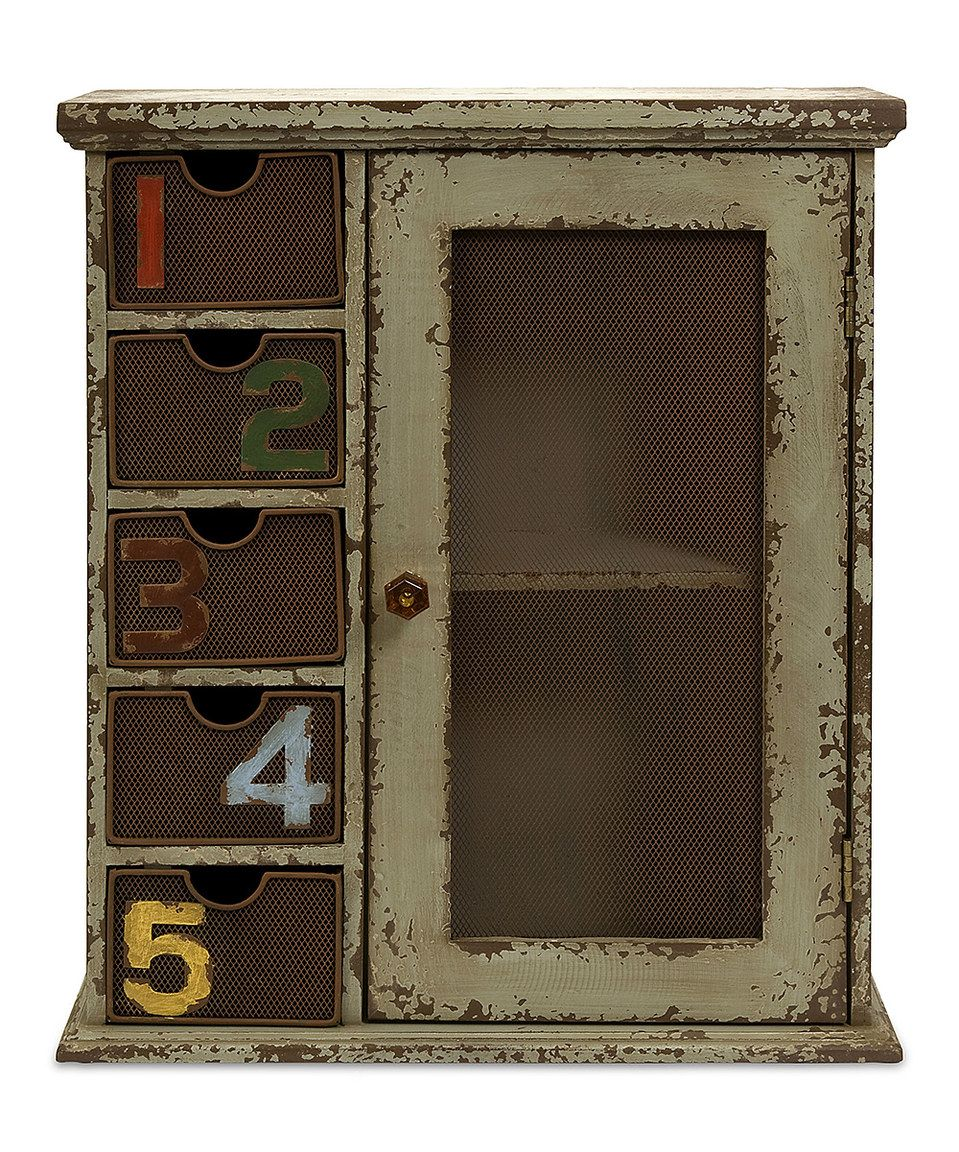 Another great find on #zulily! Harmon Wall Cabinet by IMAX #zulilyfinds