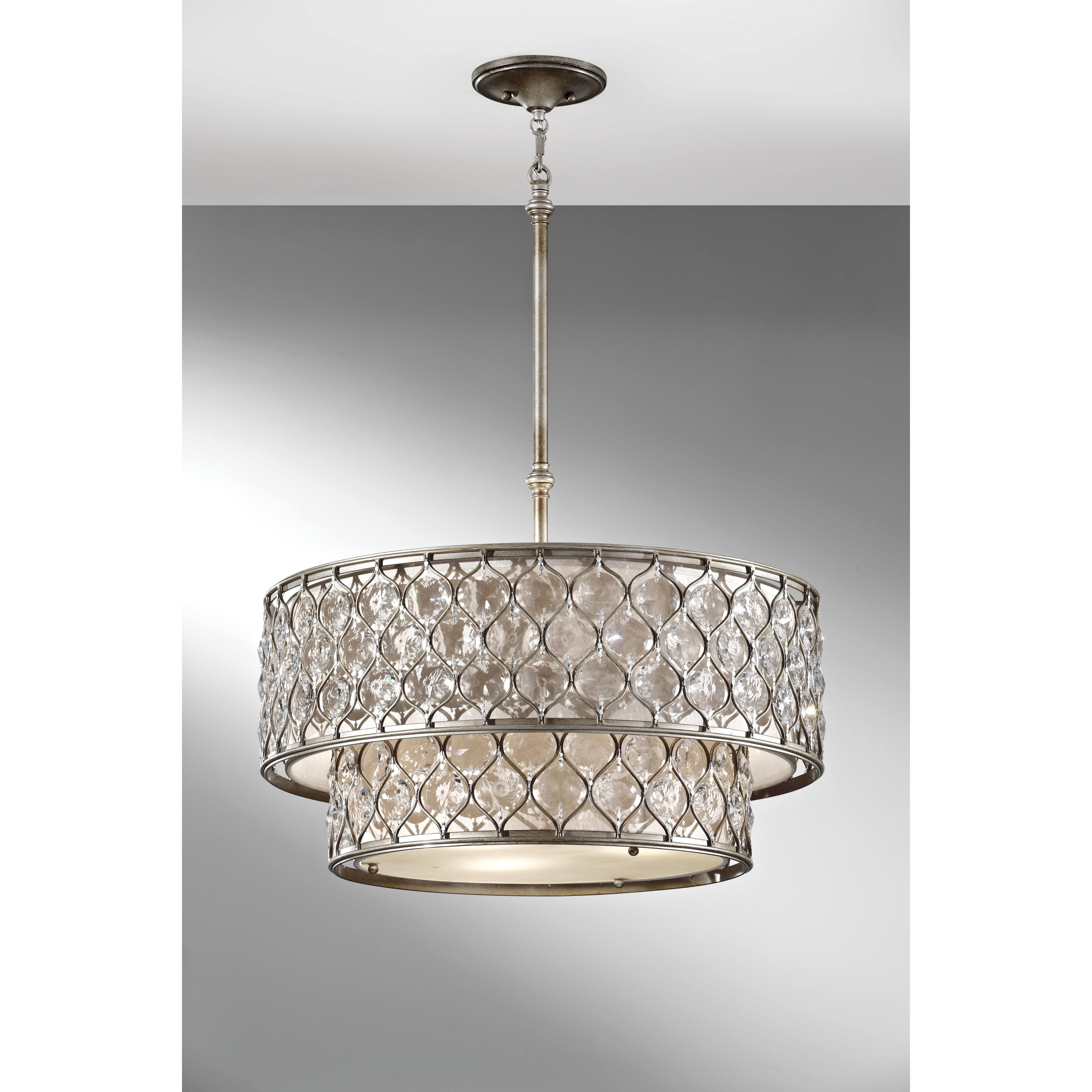 House Of Hampton Honora 6 Light Drum Chandelier