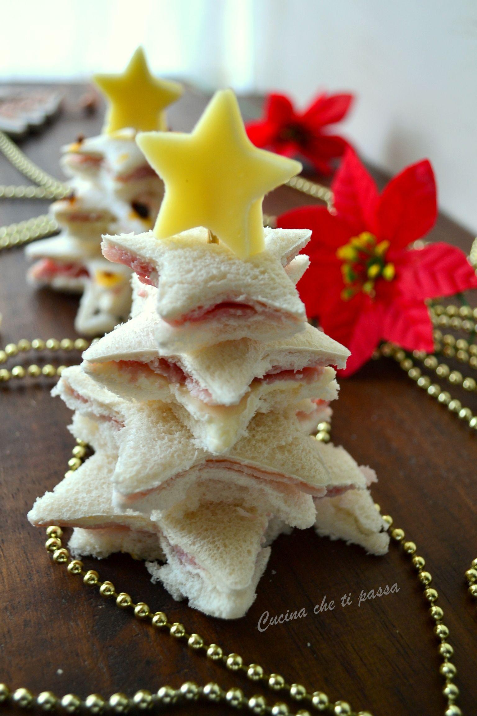 Antipasti Alberelli Di Natale.Antipasto Ad Albero Di Natale Ricette Fingerfood E Weihnachten