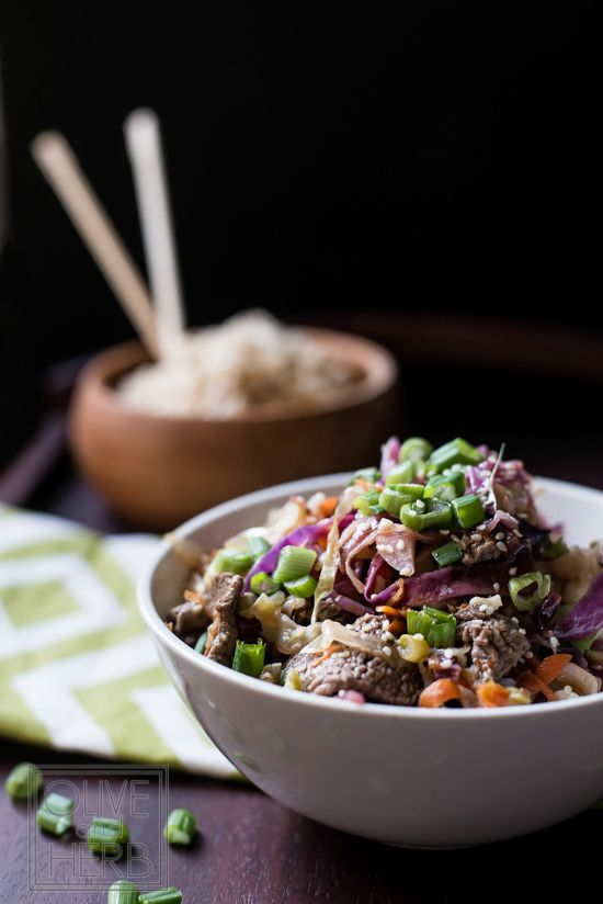 Petite Filet Stir-Fry with Ginger Lime Sauce