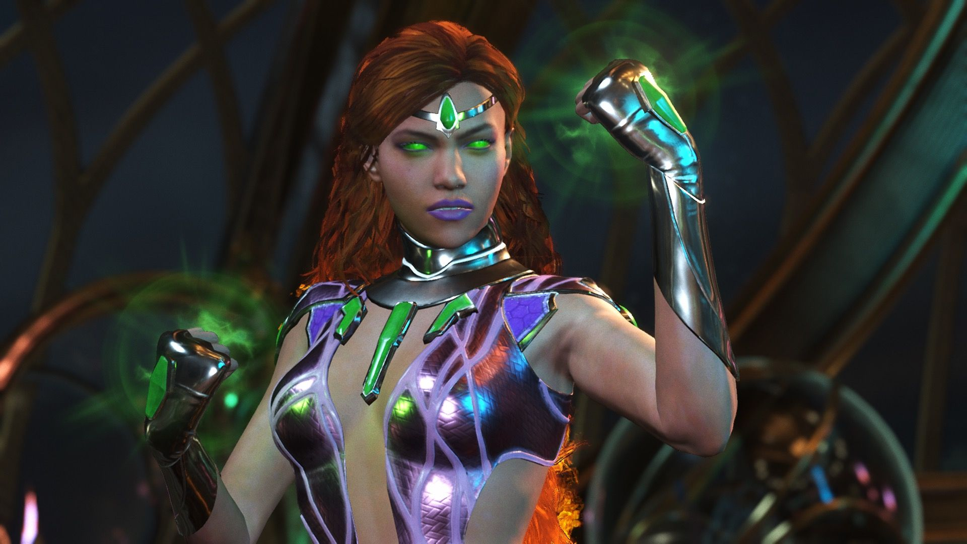 Starfire Injustice 2 So Impressed With The Designs For These Injustice 2 Characters Each Person Looks So Injustice 2 Characters Favorite Character Starfire