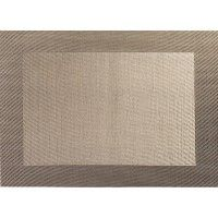 ASA-Selection Placemats placemat 33 x 46 cm,bronze weaved border    Italia