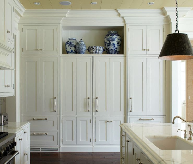 White Kitchen Cabinets To Ceiling: Wright Building Company