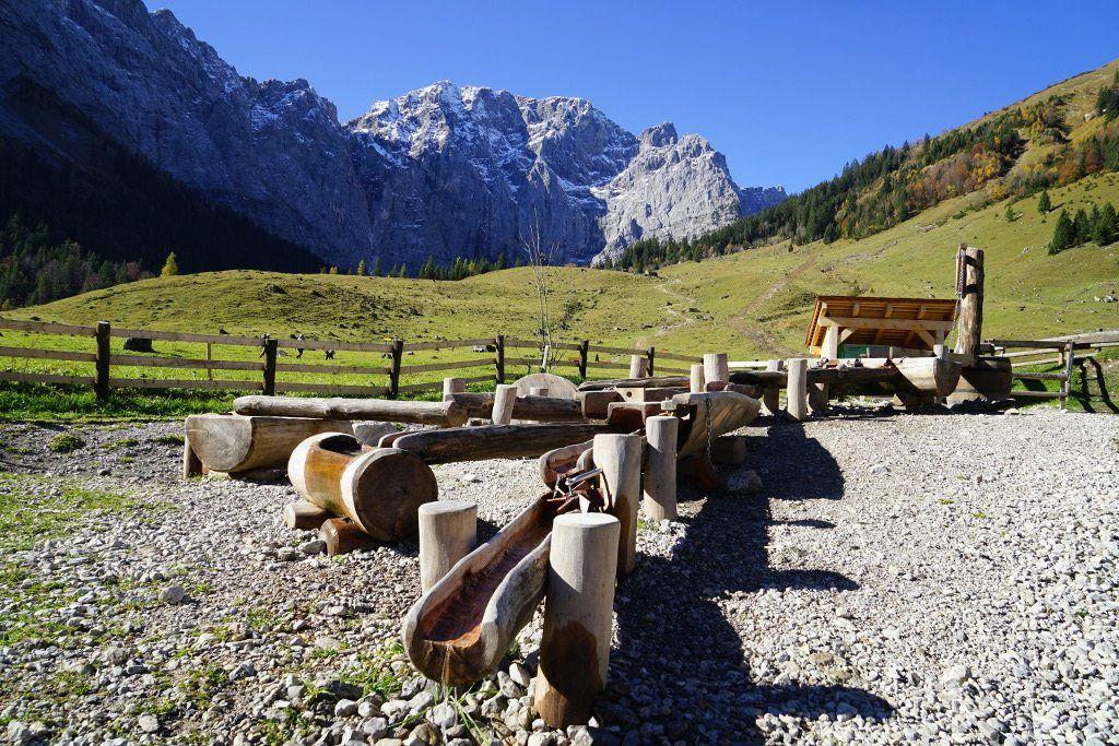Grosser Ahornboden Im Naturpark Karwendel In Tirol Wandern Tirol