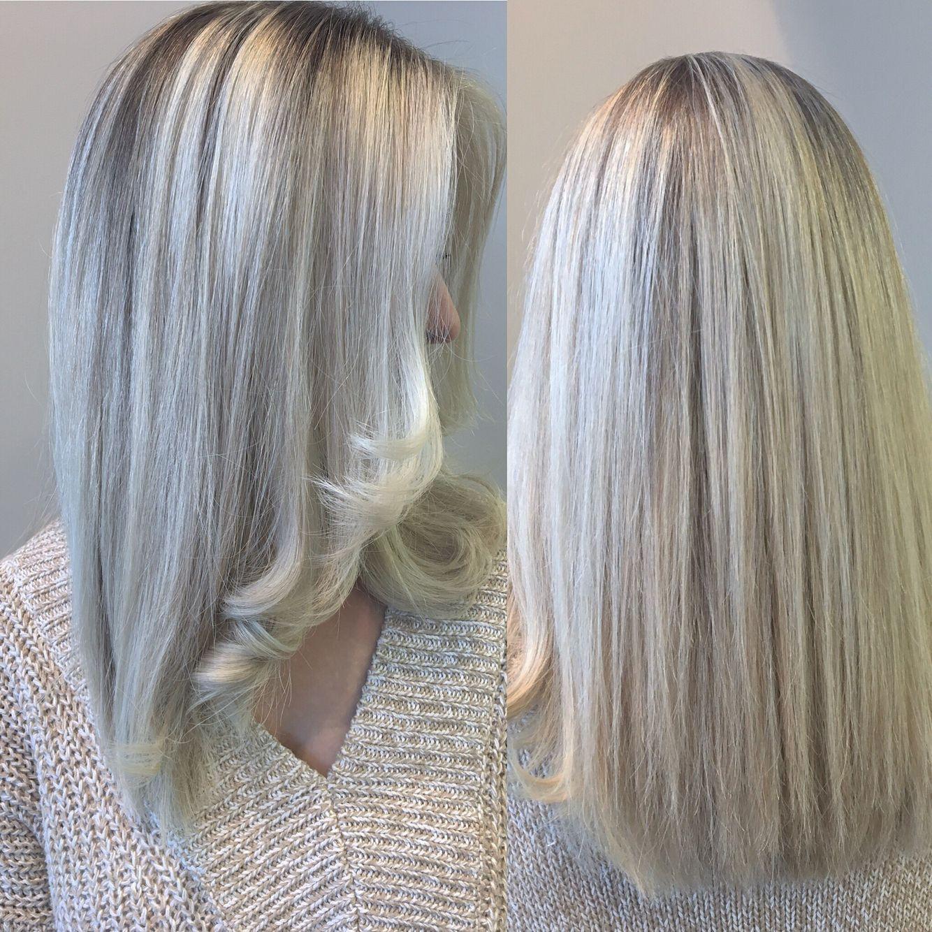 Blond polaire #ilovemyjob #byArmonie #Tendanceautomne