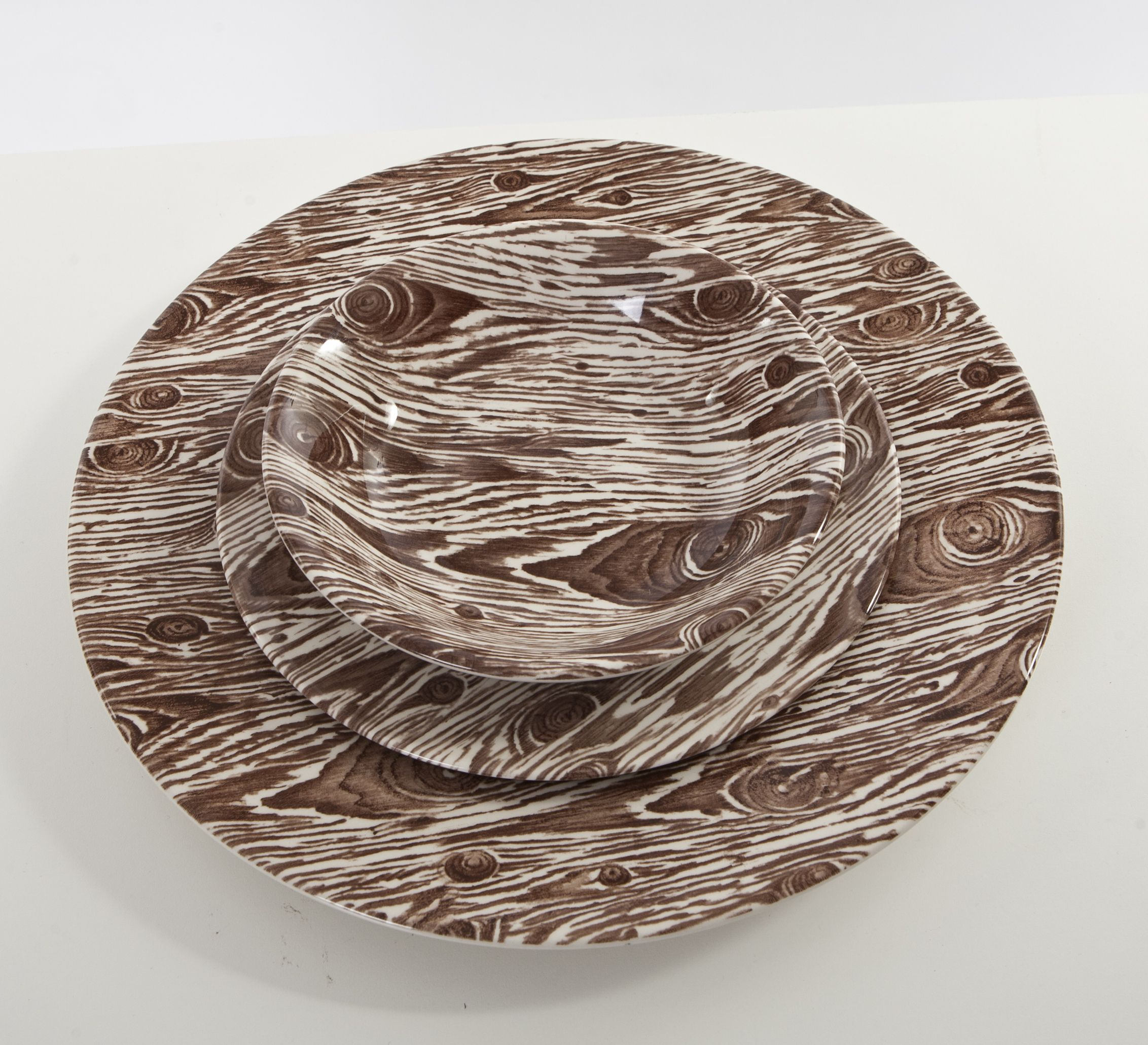 Ross Sveback Faux Bois Tabletop Collection China Patterns Ii  # Bois En Chaene
