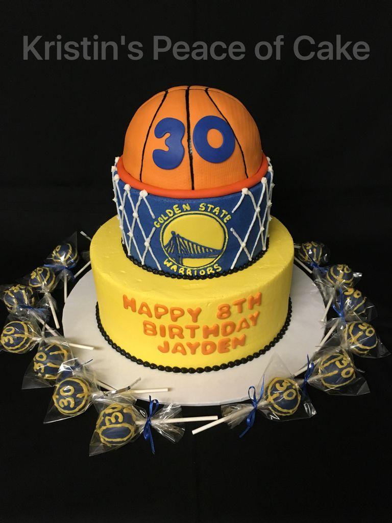 Golden State Warriors Cake Kristin S Peace Of Cake