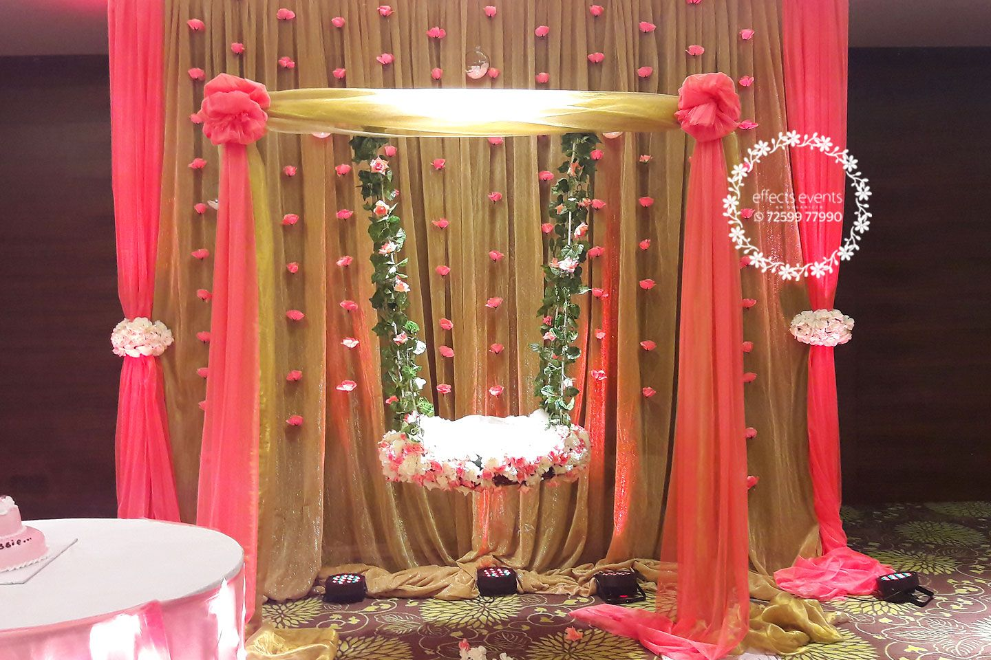 Naming Ceremony Events Organizer Decoration Cradle Ceremony