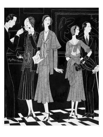 Vintage Vogue Fashion Illustrations Prints At The Conde Nast Collection Vintage Vogue Fashion Vogue Fashion Illustration Fashion Art Illustration