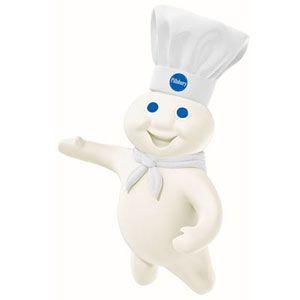 11 famous food mascots and their stories - Pillsbury Dough Boy Halloween Cookies