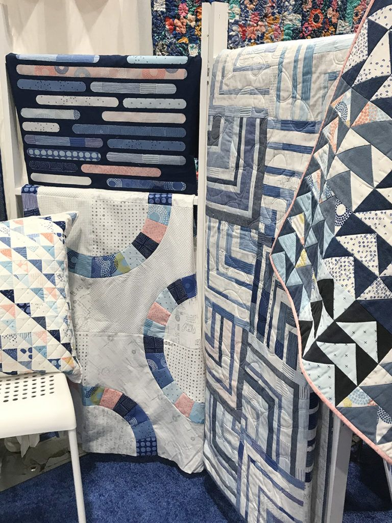 Spring Quilt Market 2019 Friday is part of Spring quilts, Quilts, Laundry basket quilts, Spring, Riley blake designs, Basket quilt - Today was officially Day 1 of Spring Quilt Market 2019! We came, we saw, and we have so much more to see in the next two days! Here are just a few of many