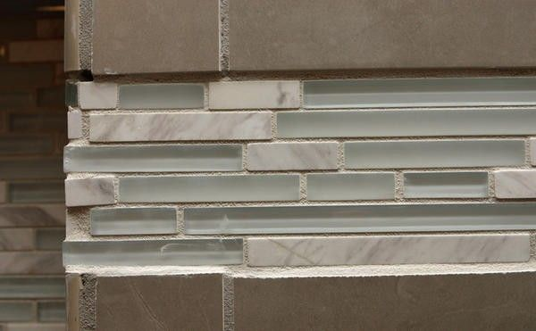 Installing tile of different thickness Making a thinner decorative