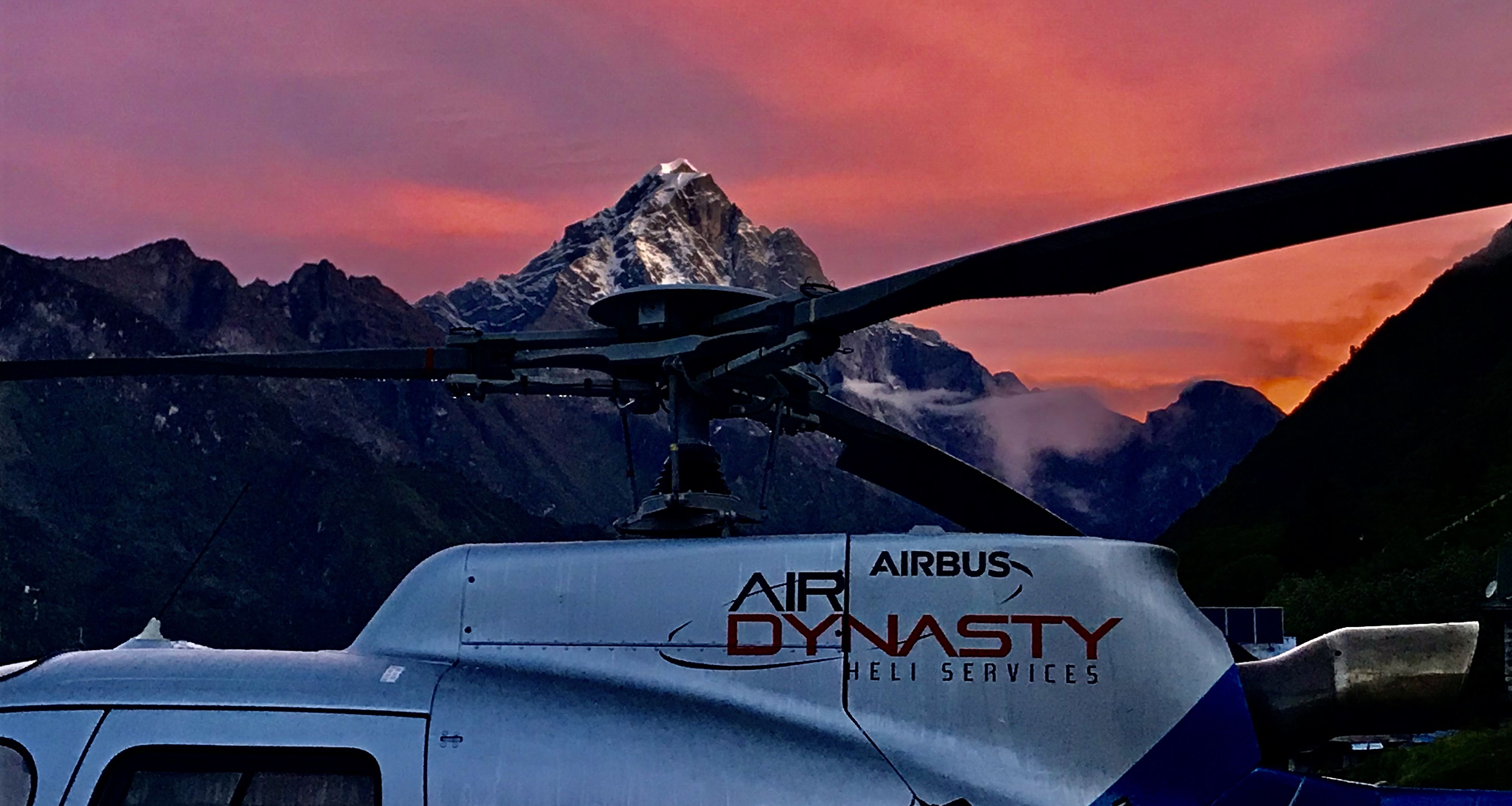 Air Dynasty Heli Services Pvt. Ltd. one of the largest