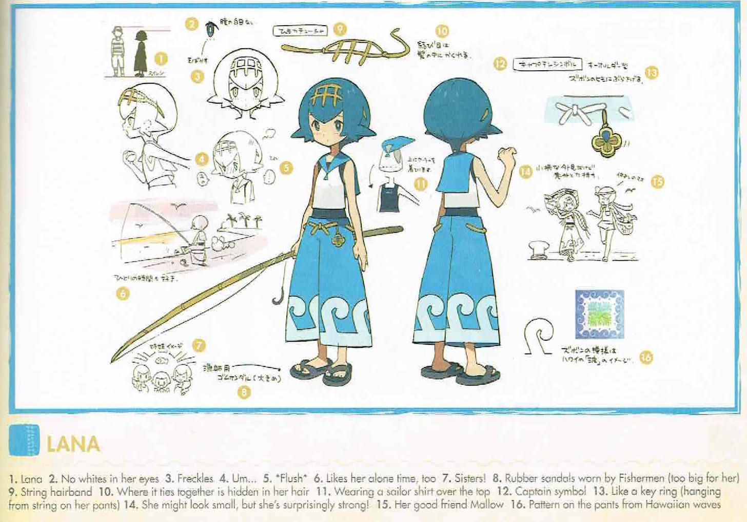 Pokemon sunmoon character concept arts part 1 concept art pokemon sunmoon character concept arts part 1 biocorpaavc Images