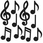 Mini Notas Musicais, pacote com 10 recortes Silhueta Dança Música Década De 1950 Decoração De Festa | eBay