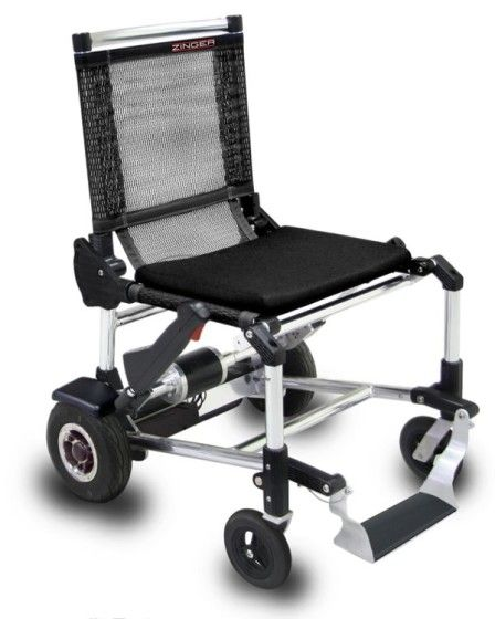 The Ultralight Zinger Wheelchair is Unfolded and Ready for Use.>>> See it. Believe it. Do it. Watch thousands of spinal cord injury videos at SPINALpedia.com